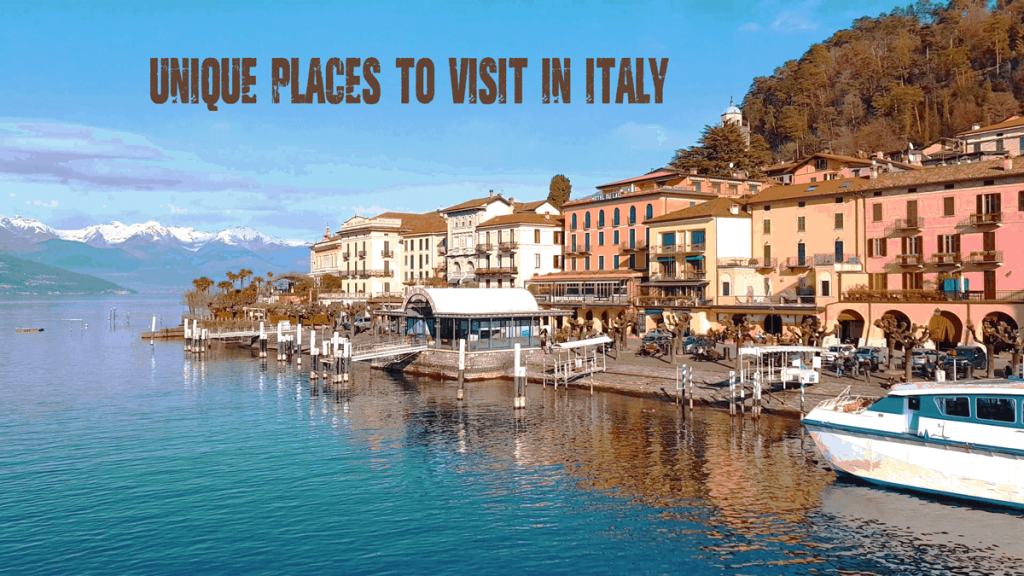 unique places to visit in italy